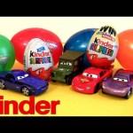 Disney Cars Surprise Eggs Holiday Edition Lightning McQueen Huevos Kinder Surprise Easter toys