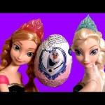 Disney Frozen Anna & Elsa Surprise Eggs – Princesa El Reino del Hielo Huevos Sorpresa