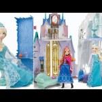 Disney Frozen Castle & Ice Palace Playset ❤ Castillo y Palacio de Hielo de La Princesa Anna y Elsa