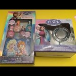 Disney Frozen Party!  Opening a Surprise Egg, Jewellery, and Nail Polish