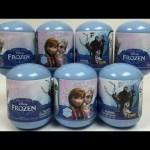 Disney Frozen Queen Elsa Princess Anna Kristoff Olaf Snowman Figures