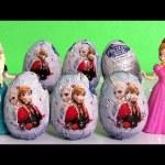 Disney Frozen Surprise Eggs ❤ NEW ❤ Frozen Una Aventura Congelada Huevos-Sorpresa