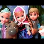 Disney Frozen Toddler Dolls Olaf Princess Anna Princess Elsa Kristoff Sven 2014 Deluxe Collector Set