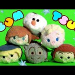 Disney Frozen Tsum Tsum Collection with Choco Disney Tsum Tsum Easter Eggs Surprise