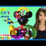 Disney Junior Mickey Mouse Clubhouse Toys Minnie Mouse Joker Mater Surprise Eggs Shopkins