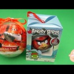 Disney Planes & Angry Birds Surprise Eggs Christmas Candy Toys Kinder Ornaments Opening + Unwrapping