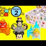 Disney Tsum Tsum Mystery Stack Pack Blind Bags Series 2 Toy Genie