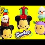 Disney Tsum Tsum Pull Back Cars with Shopkins Season 4