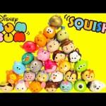 Disney Tsum Tsum Squishy Figure 5 Packs with Surprise