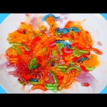 DIY Jello Gummy Worms | Rainbow Color Sweet Treats – How To Videos