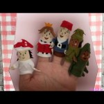Finger Family Nursery Rhyme Finger Puppets Daddy Finger Mother Finger Brother Sister Baby Finger