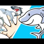 Finger Family (SHARK Family) | Daddy Finger Family Song for Children | Surprise Eggs Nursery Rhymes