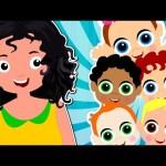 Five Little Babies   Nursery Rhymes For Childrens   Kids Songs
