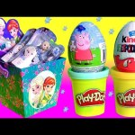 FROZEN Dress-Up Elsa Snap-Ins, Play-Doh Surprise Eggs Peppa Pig Nickelodeon