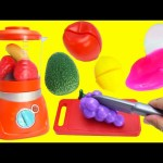 Fruit Slime Smoothies in Blender LEARN Colors