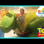 GIANT DISNEY TOY STORY Kids Playroom Mr Potato Head Family Fun Children PlayCenter Ryan ToysReview
