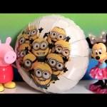 Giant Minions Balloon Surprise Kinder Barbie Mashems Paw Patrol Disney Frozen Elsa Fashems PeppaPig