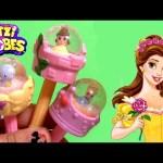 Glitzi Globes Disney Princess Belle Cinderella ❤ Beauty and Beast ❤ How to Make a Glitter Snow Globe