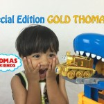 GOLD THOMAS the tank engine special edition Thomas & Friends Take N Play