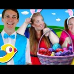 Hippity Hop – Easter Bunny Song for Kids – Counting Easter Eggs