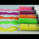How To Make Colours Syringe Jelly Slime DIY Slime Syringer Toy For Kids