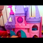 Indoor playground for KIDS with  princess toy palace  for girls.