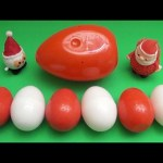 Kinder Surprise Egg Learn-A-Word! Spelling Holiday and Christmas Words! Lesson 21