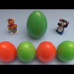 Kinder Surprise Egg Learn-A-Word! Spelling Holiday Words! Lesson 12