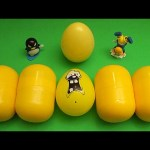Kinder Surprise Egg Learn-A-Word! Spelling Outdoor Words! Lesson 17