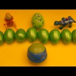 Kinder Surprise Egg Learn-A-Word! Spelling Play-Doh Shapes! Lesson 11(Teaching Letters Opening Eggs)