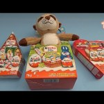 Kinder Surprise Egg Opening Party!  Opening Christmas Easter and Valentine Surprise Eggs!