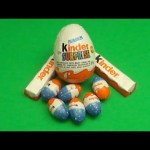 Kinder Surprise Eggs Best of Christmas Edition!  Egg Opening Compilation with Nesting Eggs!