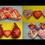 Kinder Surprise Eggs Best of Valentine's Edition!  Egg and Heart Opening Compilation!