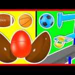 Learn Colors Collection 3D for Kids | Surprise Eggs Machine Color Balls | Baby Doll Bath Time & More