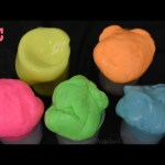 Learn Colors for Children with  Noise Putty SLIME Ooze Fun video for kids.