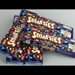 Learn Colors For Children With Smarties Candy