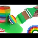 Learn Colors Slime Clay Play Doh Minions Frozen Thomas Lalaloopsy RainbowLearning