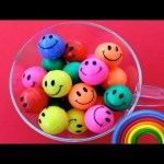 Learn Colours and Counting with Smiley Face Balls