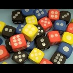 Learn Colours with Giant Foam Dice! Fun Learning Contest!