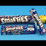 Learn Colours with Smarties!!! and Make a Rainbow Using CANDY!!!