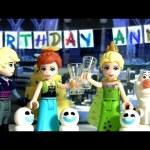 LEGO Princess Anna Surprise Birthday Party Blocks 41068 Disney FROZEN FEVER Kristoff Olaf Snowgies