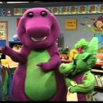 Let's Play with Barney in English – Colors & Shapes