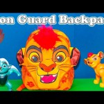 LION GUARD Disney Lion Guard Surprise Backpack with Paw Patrol + Blaze + Lion Guard Surprise Video