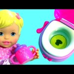 Little Mommy Baby Doll Poops Pees on a Toilet Toy – LittleMommy Princess and the Potty Training Doll