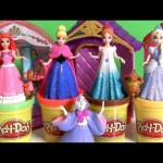 Magic Clip Dolls Princess Cinderella Fairytale Story Set Fairy Godmother Jaq Gus Disney MagiClip