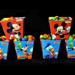 Mickey Mouse Club Goofy Donald Duck Surprise SkittlesToy Surprises  Paw Patrol Shopkins