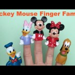 Mickey Mouse Finger Family Nursery Rhymes