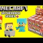 Minecraft Netherrack Series 3 Mini Figures in Blind Boxes