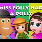 Miss Polly Had A Dolly | Nursery Rhymes For Children | Cartoon Animation