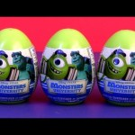 Monsters University Toy SURPRISE Easter Eggs Disney Pixar Monsters Inc. by Disney DC toys Collector